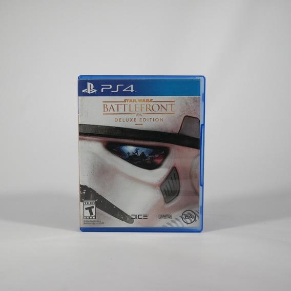 Jogos Ps4 Star Wars Battlefront Deluxe Edition. Parcela Sem