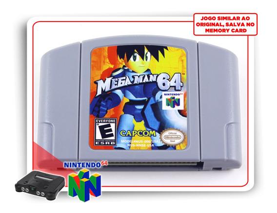 Mega Man 64 Nintendo 64 N64 -novo
