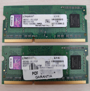 Ram Kingstone 1gb 1333 Ddr3 X2 (total 2gb)