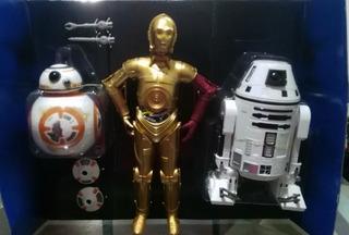 Muñecos Colección Star Wars Bb-8 V-3po, Ro-4lo Hasbro Disney
