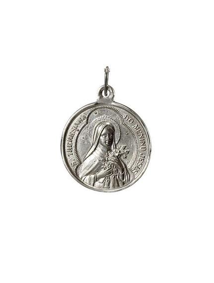 Pingente Santa Teresinha Do Menino Jesus Prata 950 Florenzza