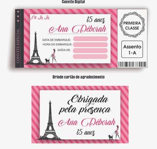 Convite Paris No Mercado Livre Brasil