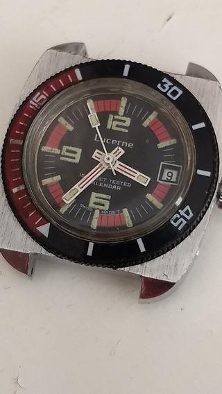 Relógio Sub Mariner Antigo, Lucerne Diver Vintage Coleção