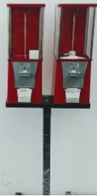 2 Maquinas Chiclera Eagle + Pedestal + 1200 Chicles