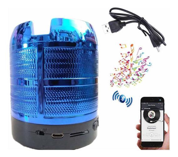 Caixinha De Som Portátil Bluetooth Mp3 Fm Sd Rádio