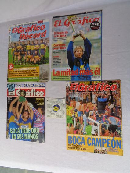 Revista El Grafico Boca Campeão Reportagens Variadas