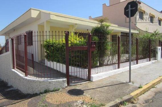 Casa Com 3 Dormitórios Para Alugar, 250 M² Por R$ 3.500,00/mês - Jardim Chapadão - Campinas/sp - Ca11275