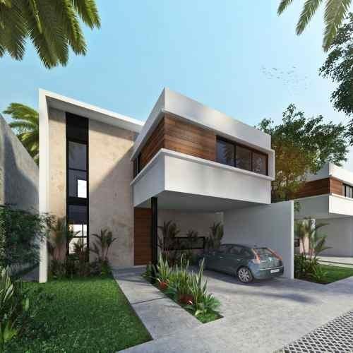 Casas De Lujo En Venta, Ubicadas En Playa Del Carmen, Bambú Arcos Modelo Phylo B