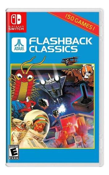Flashback Classics Switch Mídia Física Novo Lacrado