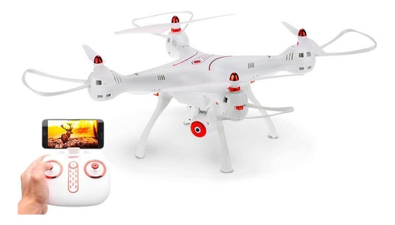 Drone Syma X8sw Câmera Wi-fi/fpv E Com 2 Baterias