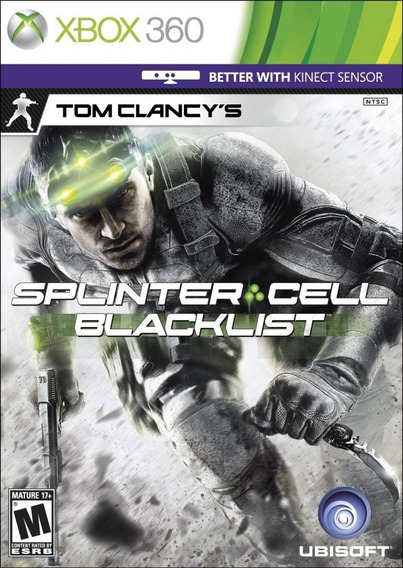 Splinter Cell Blacklist Xbox 360 Mídia Física Lacrado