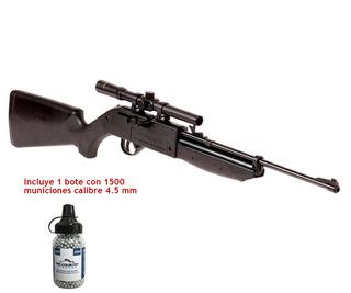 Carabina Crosman Pumpmaster Con Mira 4x20 Y 1500 Municiones