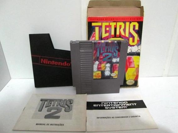Br678 - Tetris 2 Nes Playtronic Brasil 100% Completa!