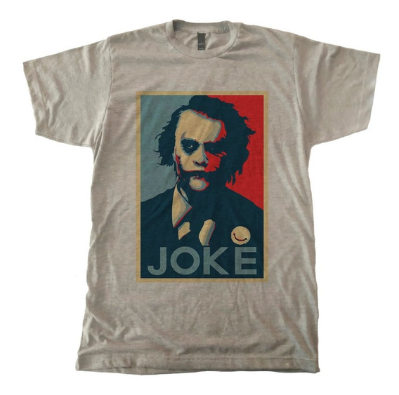 Playera Joker Dark Knight Heath Ledger Gotham