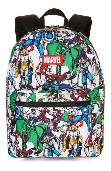 Mochila Marvel Comics Avengers 16 Pulgadas Original