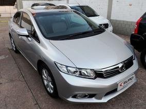 Honda Civic Exr 2.0 16v Flexone Automático Ano 2013