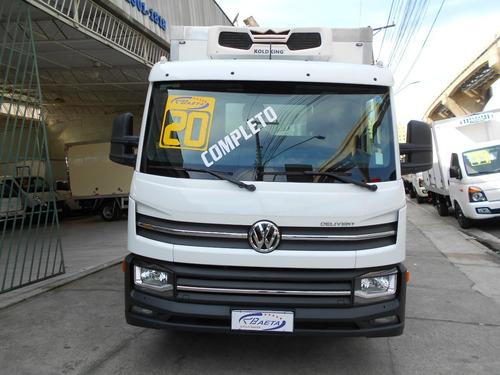Imagem 1 de 12 de Vw Express Drc 4x2 19/20 Completo, Refrigerado -20cº