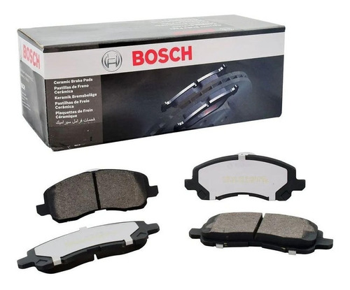 Pastillas De Frenos Bosch P/ Fiat Nueva Fiorino 1.4 Evo 87cv