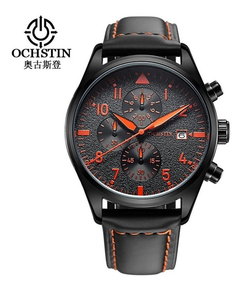 Relógio Ochstin 6043 Orange, À Prova D