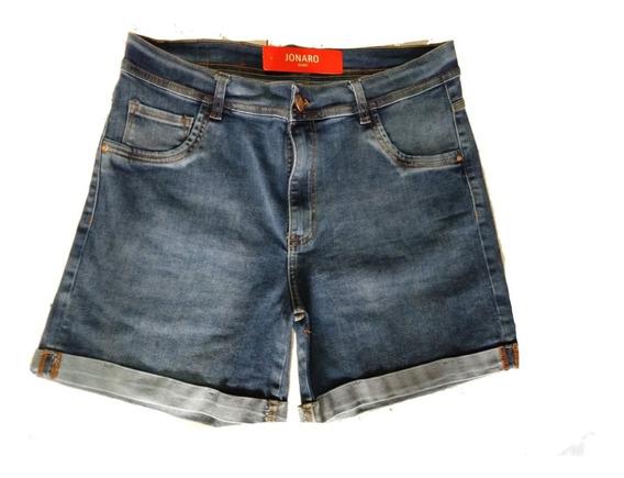 Short Elastizado Jeans Talles Especiales Talle 46 Al 60