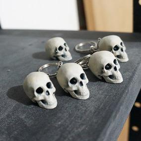 Chaveiro Caveira Skull Crânio Realista