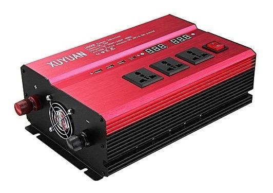 Inversor Xuyuan 8000w 12v 110v 60hz Red
