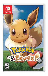 Juegos Nintendo Switch Pokemon Lets Go Evee /u