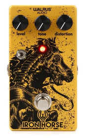 Pedal Walrus Iron Horse Lm308 V2 Distortion