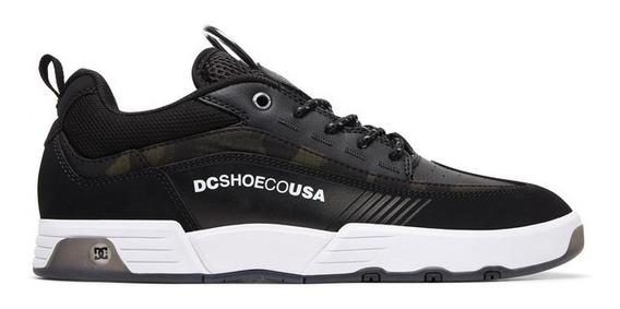 Zapatillas Dc Mod Legacy 98 Slim Se Negro!!! Coleccion 2019