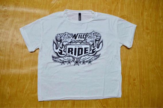 Remera Manga Corta Wild Ride