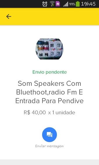 Caixa De Musica Com Blutooth,radio Fm E Wifi