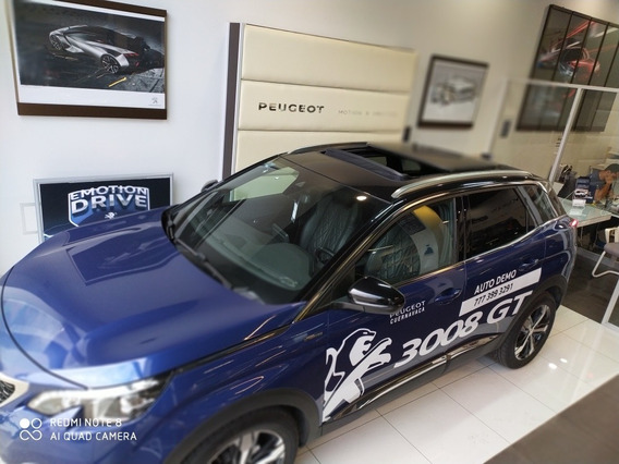 Peugeot 3008 1.6 Gt Line Thp At 2019 Demo