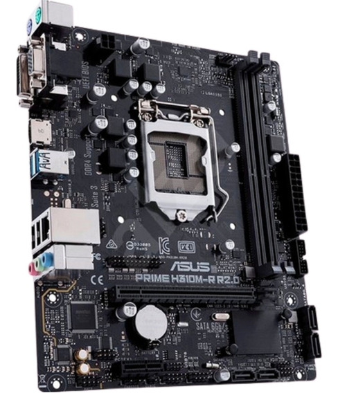 Motherboard Asus Prime H310m-e R2.0 Intel 1151 Hdmi 3.0 H310