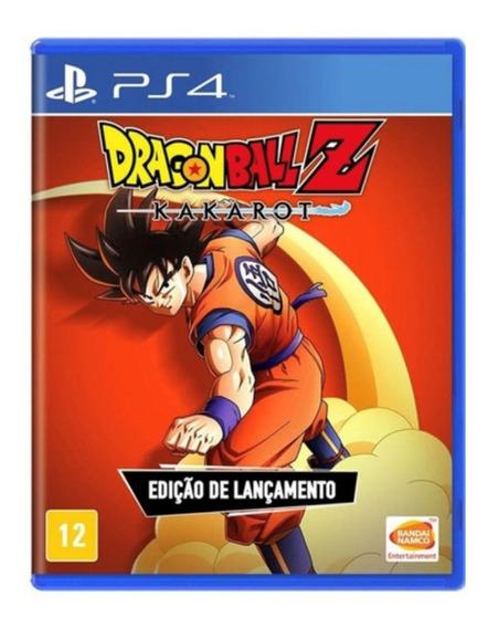 Dragon Ball Z Kakarot Ps4 Jogo Mídia Física Dragonball Z Pt