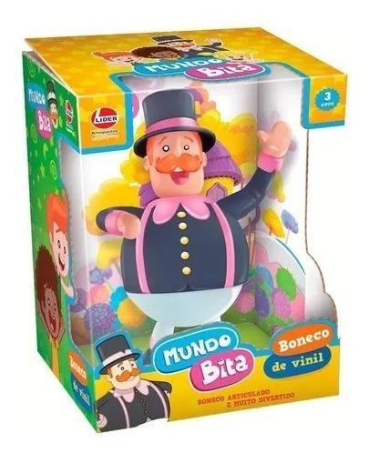 Boneco De Vinil Mundo Bita Lider Brinquedos