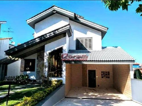 Casa Com 3 Dormitórios, 320 M² - Venda Por R$ 2.600.000,00 Ou Aluguel Por R$ 10.000,00 - Condomínio Arujá 5 - Arujá/sp - Ca0012