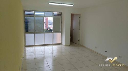 Sala Para Alugar, 27 M² Por R$ 750,00/mês - Centro - Santo André/sp - Sa0123