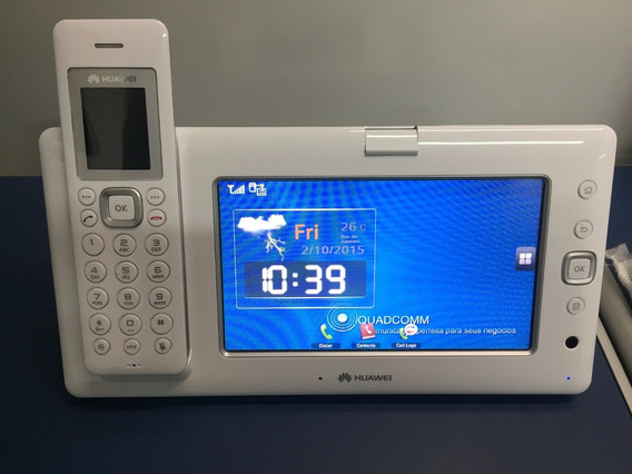 Telefono Voip Huawei Tactil Webcam Wifi Mc850 X6