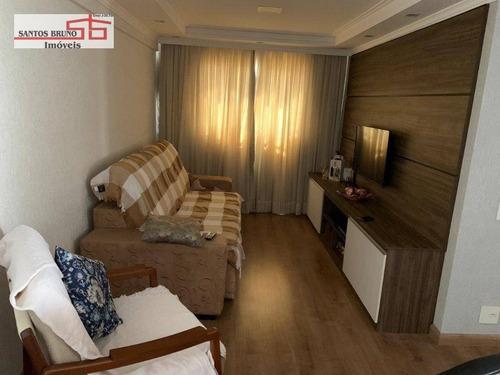 Apartamento À Venda, 55 M² Por R$ 299.900,00 - Piqueri - São Paulo/sp - Ap3435