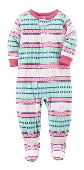 Pijama Macacão Fleece Carters Menina 2 - 5 Anos