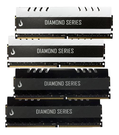 Memória Ddr4 Diamond Rm-d4-8g-3000d 2 X 8gb 3000mhz