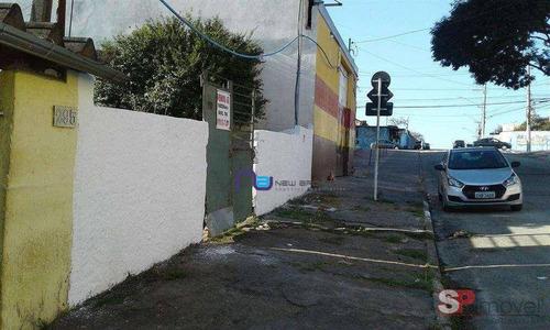 Terreno Venda, 500m²  1.280.000 - Vila Ré - São Paulo/sp - Te0100
