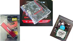 Kit Gamer Placa Mãe Gaming 1151+i5 6500t+corsair 8gb Ddr4