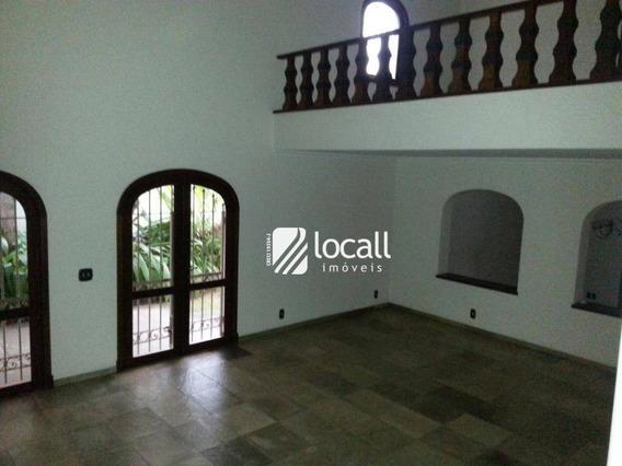 Casa Com 3 Dormitórios Para Alugar, 550 M² Por R$ 13.000,00/mês - Redentora - São José Do Rio Preto/sp - Ca1981