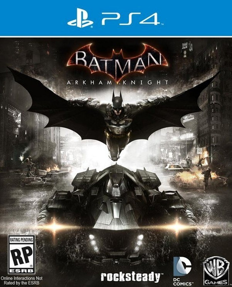 Batman Arkhan Night Ps4 Envio Agora