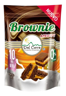Brownie Del Cerro Arequipe Doy Pack 2 Paquetes X 10 Uds