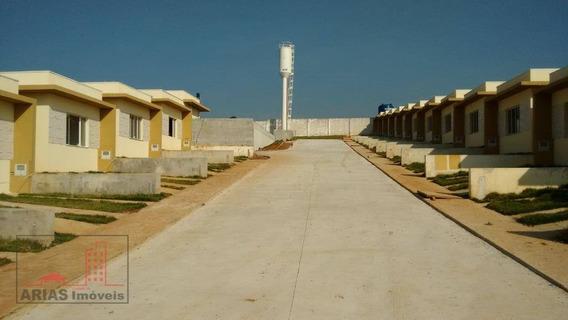 Casa Nova Em Condomínio Com 3 Dormitórios À Venda, 68 M² Por R$ 225.000 - Parque Olimpico - Mogi Das Cruzes/sp - Ca0055