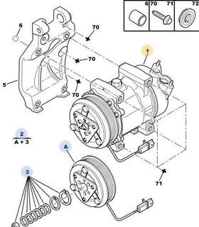 Compresor Aa Peugeot 307 Break