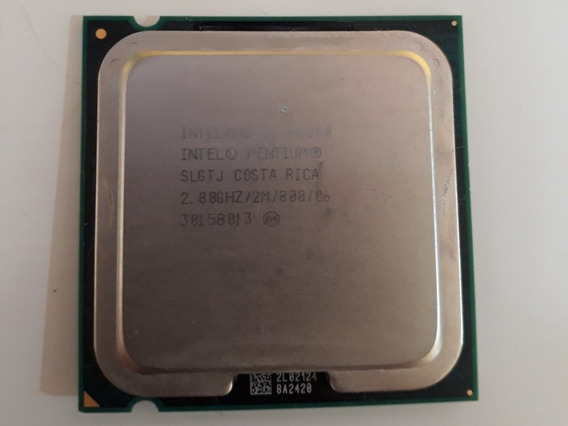 Processador Pentium E5500 Slgtj 2.80ghz 2mb Lga775