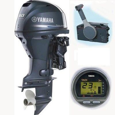 Motor De Popa Yamaha 40 Hp 4 Tempos P.eletrica / Power Trim